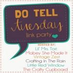 Do Tell Tuesday - Button