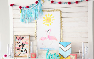 Love Birds Poster – Free Printable