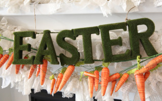 Easter Mantle & Giveaway Sneak Peek