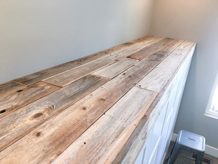 Reclaimed Wood Ledge