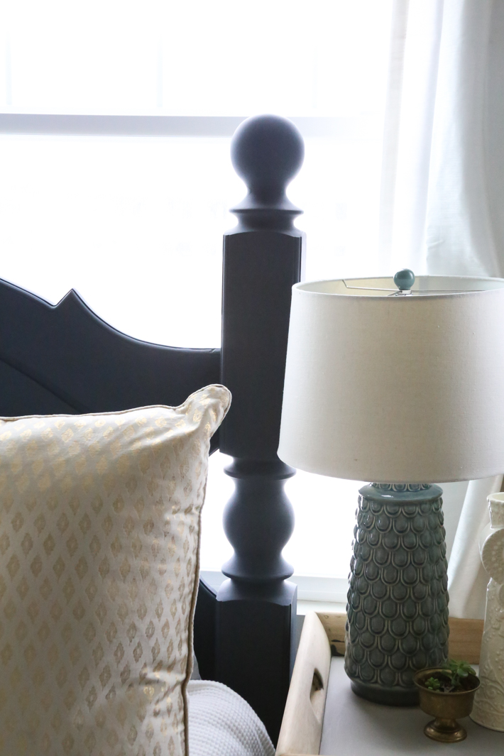 Headboard Makeover with Chalk Paint