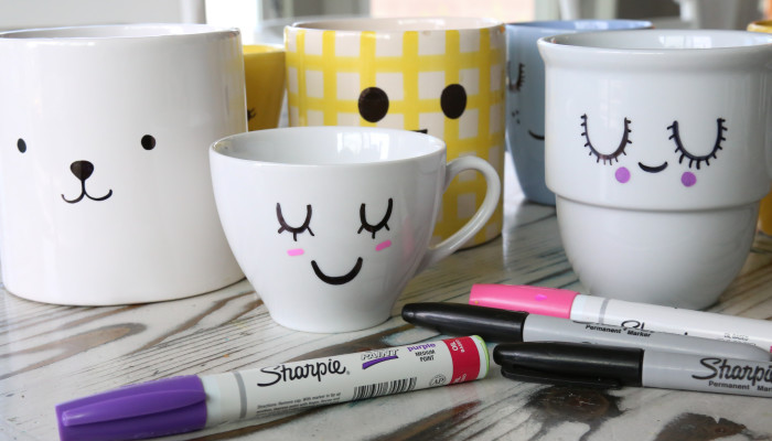 Sharpie Face Planters