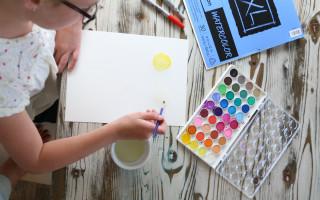 Watercolor Emoji Art