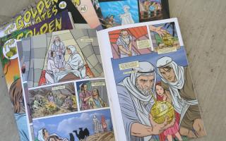 Book of Mormon, Comic Book Style