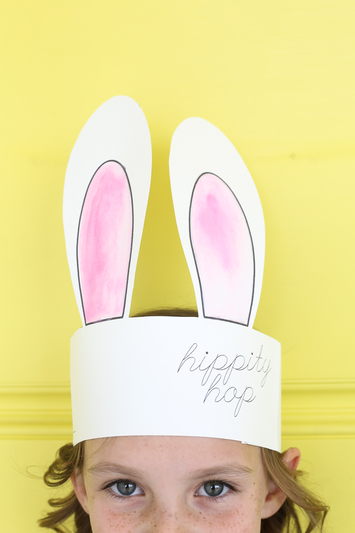 photograph about Bunny Ears Printable known as Bunny Ears Cost-free Printable!